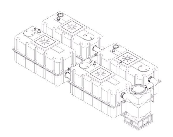 Поверхностный отстойник ПО-10 К (10 куб.м)