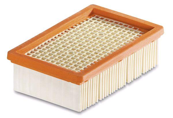 Плоский складчатый фильтр для пылесосов MV (4, 4 Premium, 5, 5 Premium, 6P Premium)