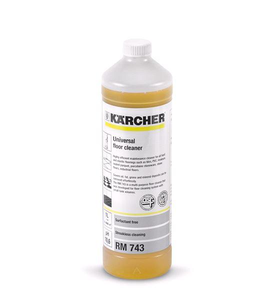 RM 743 (1л) Универсальное средство для уборки полов Karcher