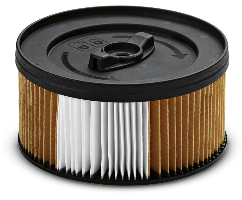 Патронный фильтр с нанопокрытием для пылесосов WD (4.200, 4.250, 5.200, 5.300, 5.400, 5.470,5.500M, 5.800 eco!ogic, 5.600 MP)