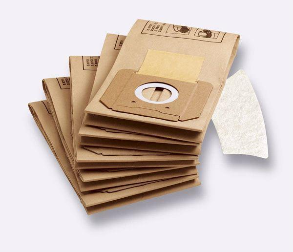 Комплект бумажных мешков-фильтров для пылесосов серии К 2701, 2801