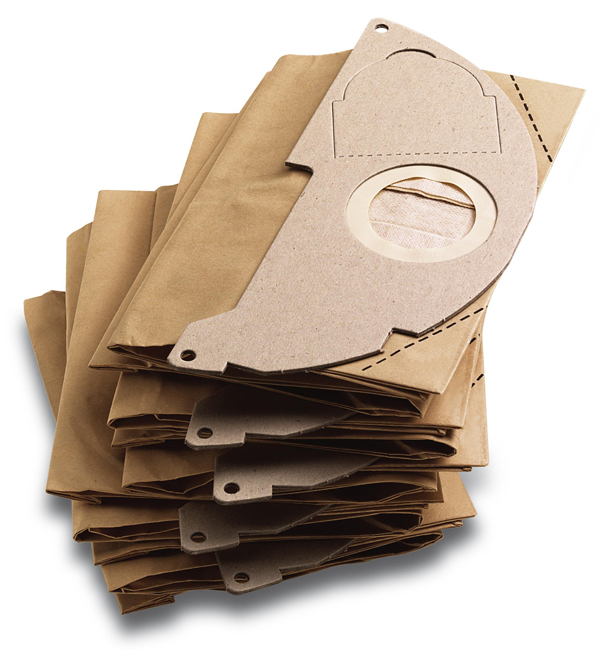Бумажные фильтр-мешки для пылесососв серии WD MV ( 2.200, 2)