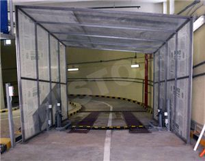 Установка для мойки шасси легковых автомобилей на проезде СМД-Л-1
