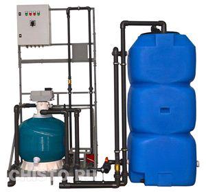 Установка очистки и рециркуляции воды СОРВ-5/800-Р-АП