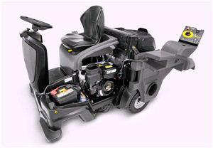 Подметальная машина Karcher KM 105/110 R