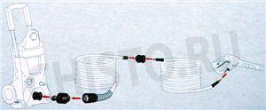 Комплект адаптеров для удлинительного шланга