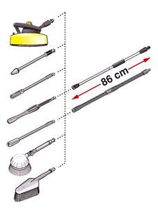 1-ступенчатая удлинительная трубка Karcher (0,4 м) для K2 - K7