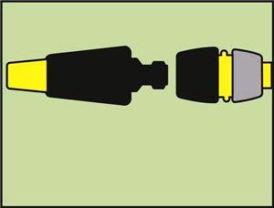 2-сторонний соединитель  для шланга
