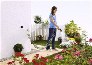 Садовый комплект со спираным шлангом Karcher