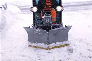 Снегоуборочный плуг для коммунальной машины Karcher MC 50 (135см)