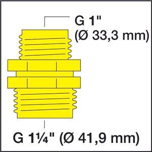 Соединительный элемент для насосов (G 1