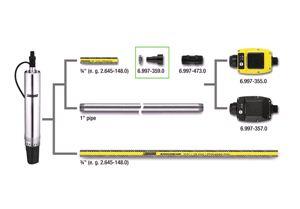 Соединительный элемент для насосов, с обратным клапаном(G1