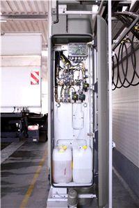 Портальная мойка для грузового транспорта серии TB