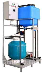 Установка очистки и рециркуляции воды СОРВ-2/130-P