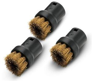 Комплект круглых щеток с латунной щетиной для пароочистителей серии SC, SI