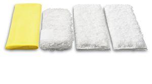 Комплект микроволоконных салфеток для пароочистителей серии SC, DE