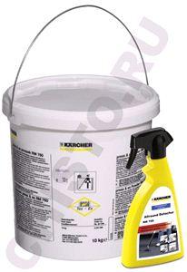 Комплект чистящих средств Karcher RM 760 (10 кг) +  RM 769 (0.5л) *Sochi