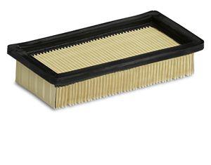Плоский складчатый фильтр с нанопокрытием для пылесосов WD (7.300, 7.500, 7.700 P, 7.800 eco!ogic)