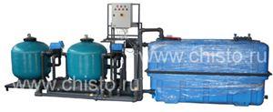 Установка очистки и рециркуляции воды СОРВ-25/2500-А-2Ф-АП