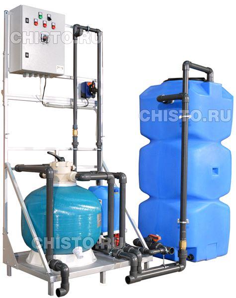 Установка очистки и рециркуляции воды СОРВ-5/800-Р