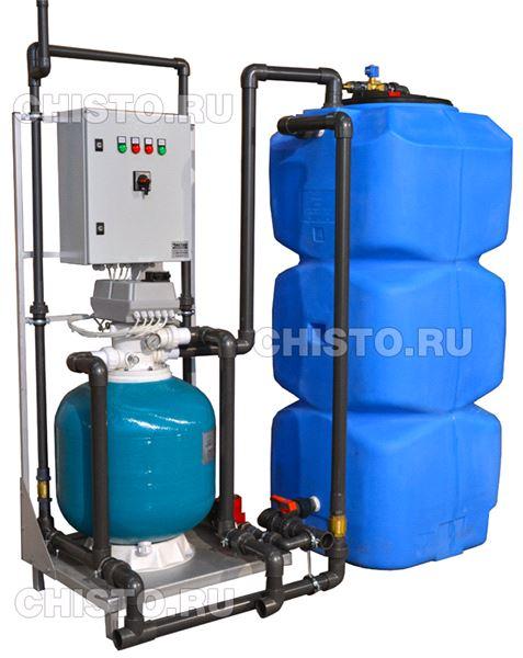 Установка очистки и рециркуляции воды  СОРВ-2/800-Р-АП