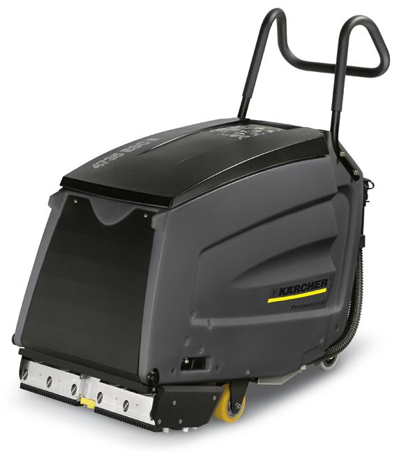 Аппарат для очистки эскалаторов и травалаторов Karcher BR 47/35 Esc