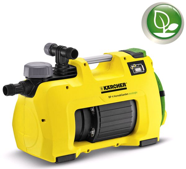 Станция водоснабжения Karcher BP 4 Home & Garden eco!ogic