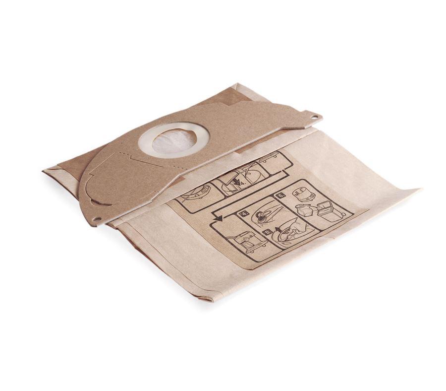 Бумажные пакеты фильтра 5pc. WD 2 brown
