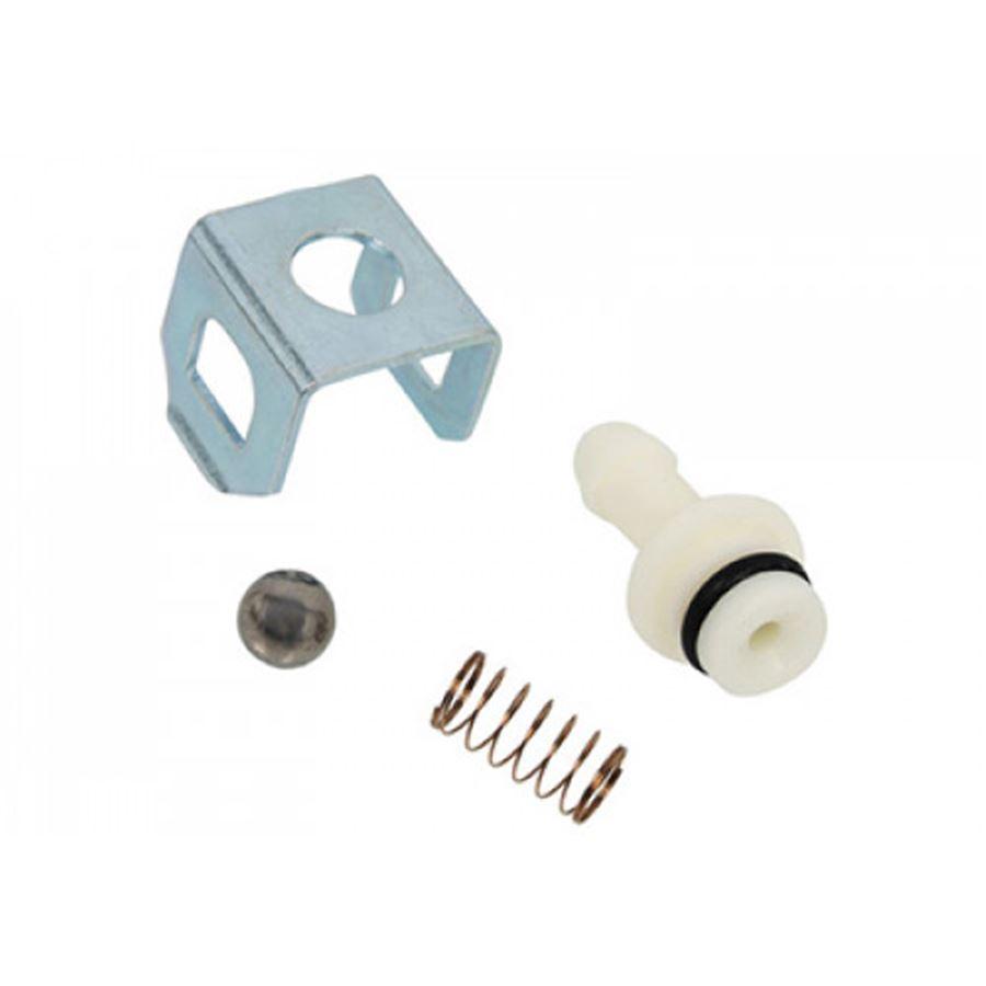 Ремкомплект клапана химии (пружина, шарик, штуцер, сальник запирающая пластина)
