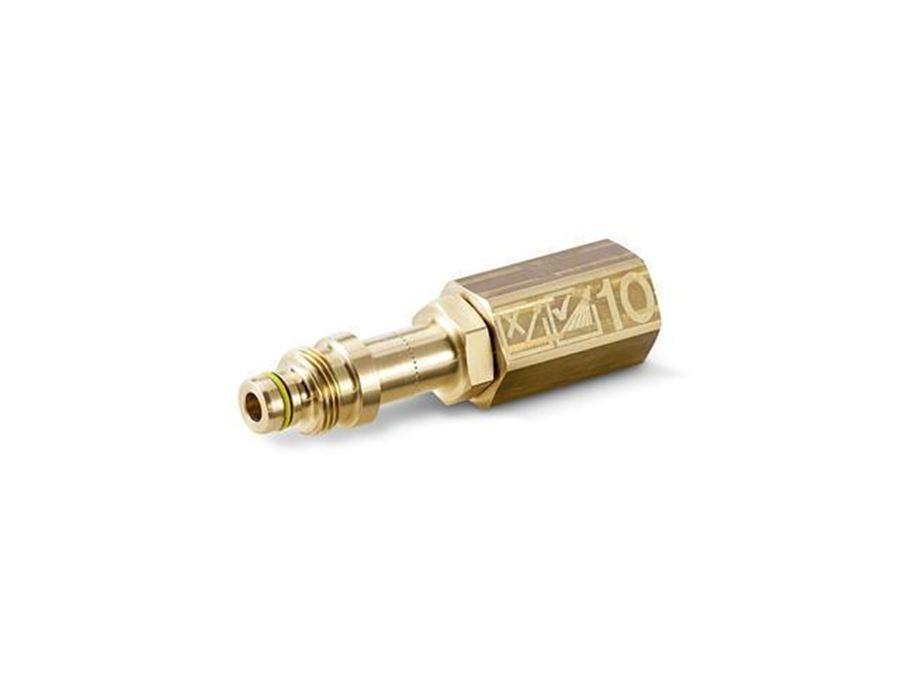 Резьбовой штуцер для приспособле ний для очистки поверхностей и регуляторов Servo Control