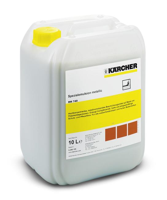 RM 740 (10 л.) Специальная металлизирующая эмульсия Karcher