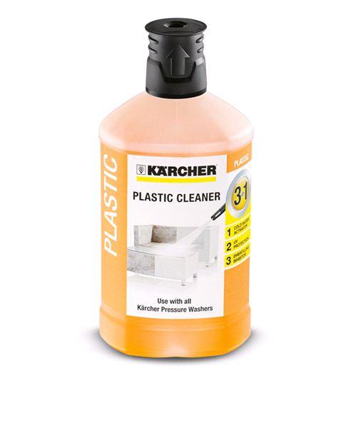 Средство Karcher для чистки пластмассы 3в1 (1л)