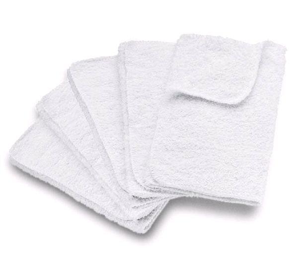 Салфетки из махровой ткани для бытовых парогенераторов и пароочистителей серий SC, SI, DE