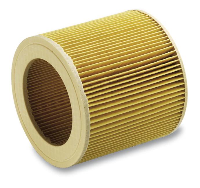 Патронный фильтр Karcher для пылесоса WD SE MV (WD 2.200; 3.200; 3.300; 3.500; SE 4001; 4002; MV 2, 3, 3P, 3 Premium)