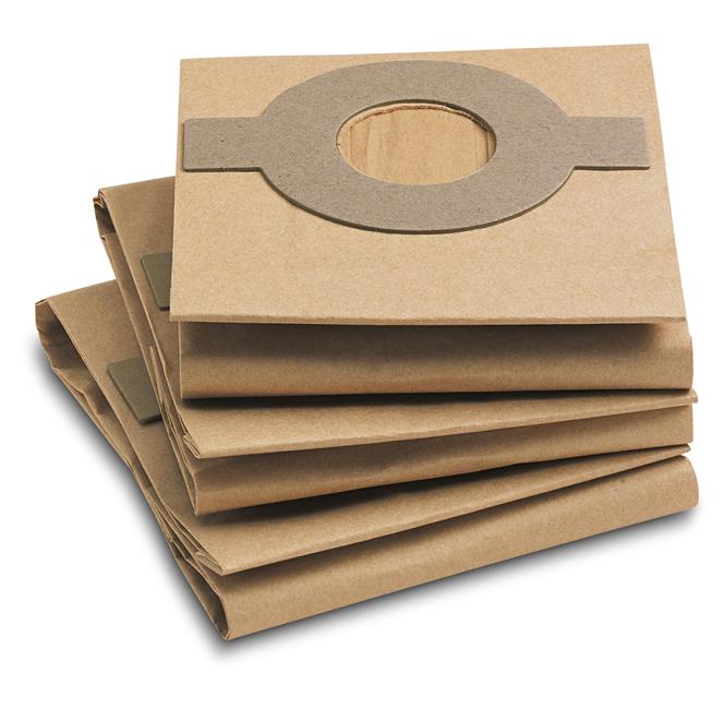 Фильтр-мешки, 5 шт, бумажные для полотера FP 303