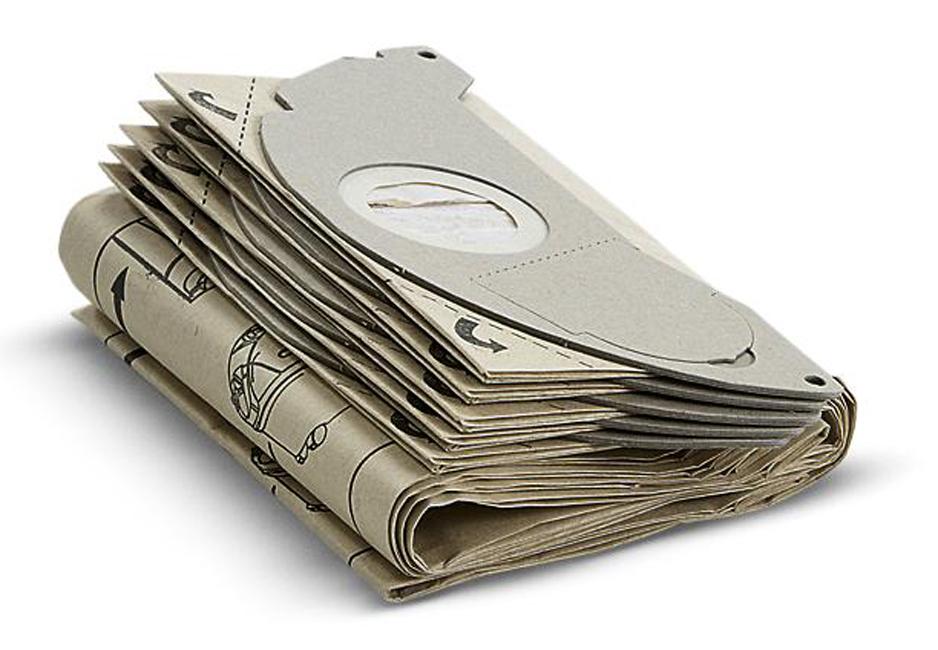 Фильтр-мешки, 5 шт, бумажные, для моделей пылесосов серии (SE 5.100)