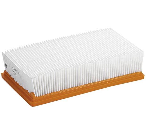 Плоский складчатый фильтр (полиэфирный шелк) для серий NT 35/1, 45/1, 360, 361