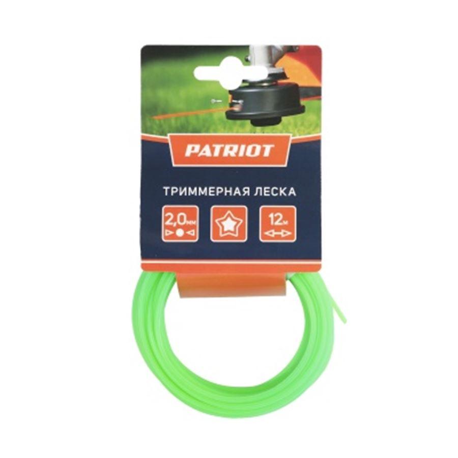 Леска PATRIOT D 2,0 мм L 12 м
