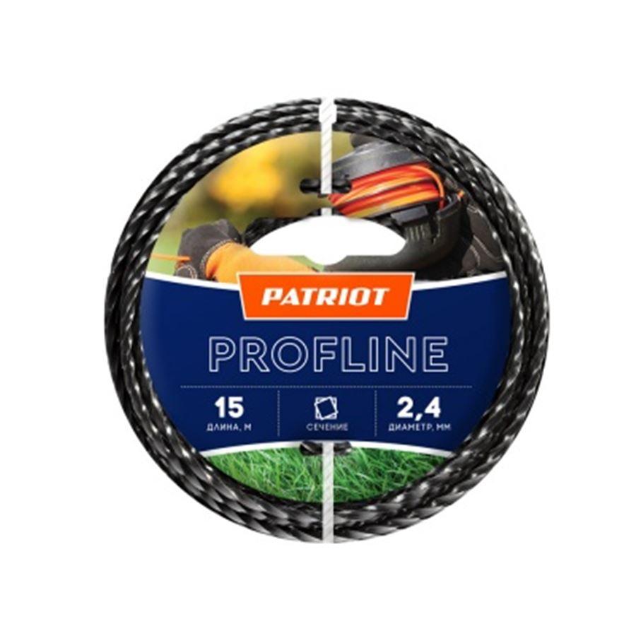 Леска PATRIOT Profline D 2,4 мм L 15 м