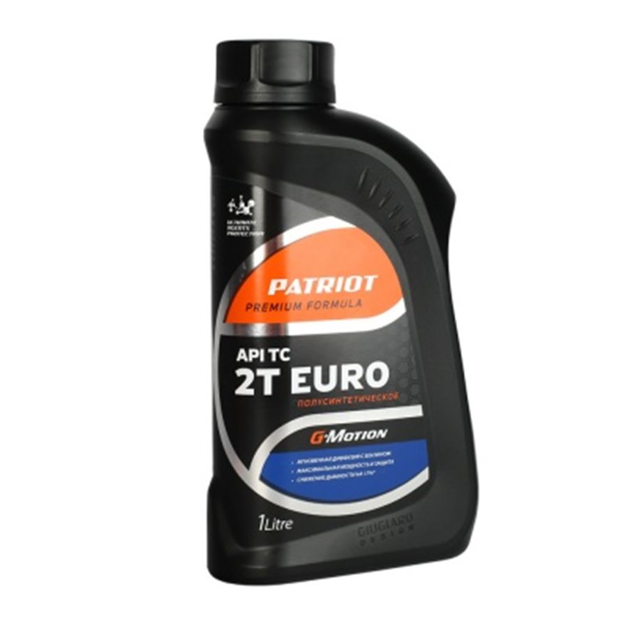 Масло полусинтетическое PATRIOT G-Motion 2Т EURO