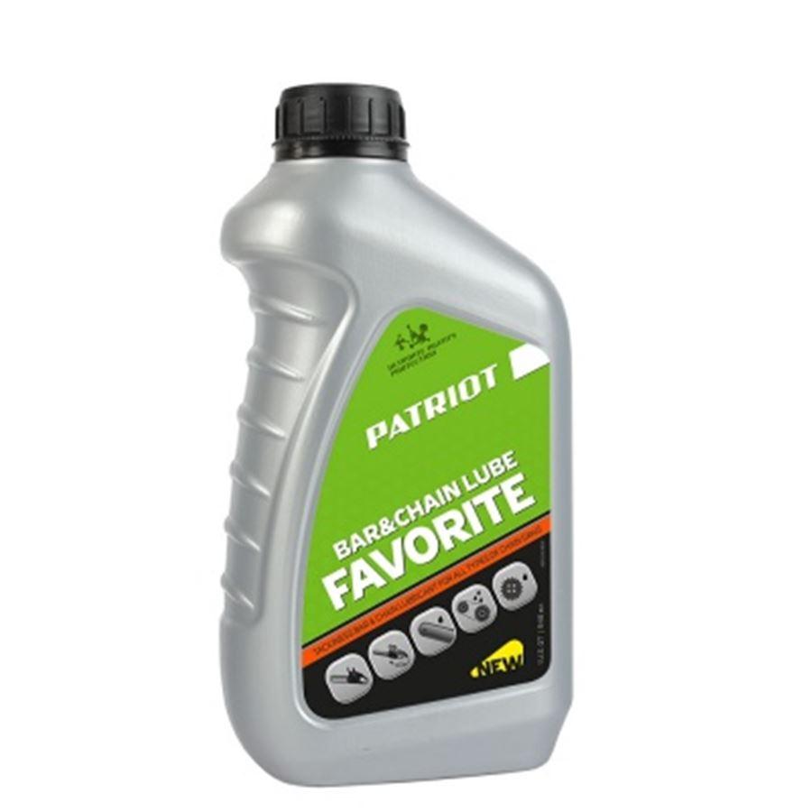 Масло цепное PATRIOT FAVORITE BAR&CHAIN LUBE 0,946л.