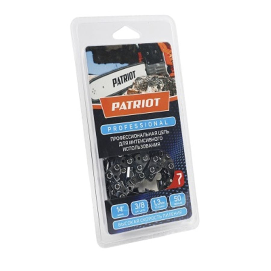 Пильная цепь PATRIOT PROFESSIONAL 91LP-50E (3/8; 1,3 мм; 50 звеньев)