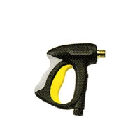 Пистолет с мягкой накладкой и уменьшенным усилием удержания рычага