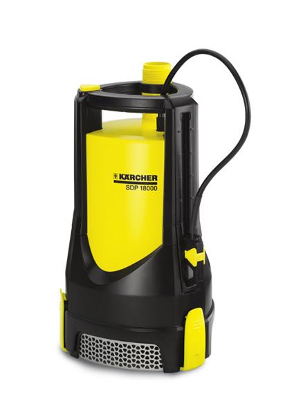Погружной насос для грязной воды Karcher SDP 18000 IQ Level Sensor